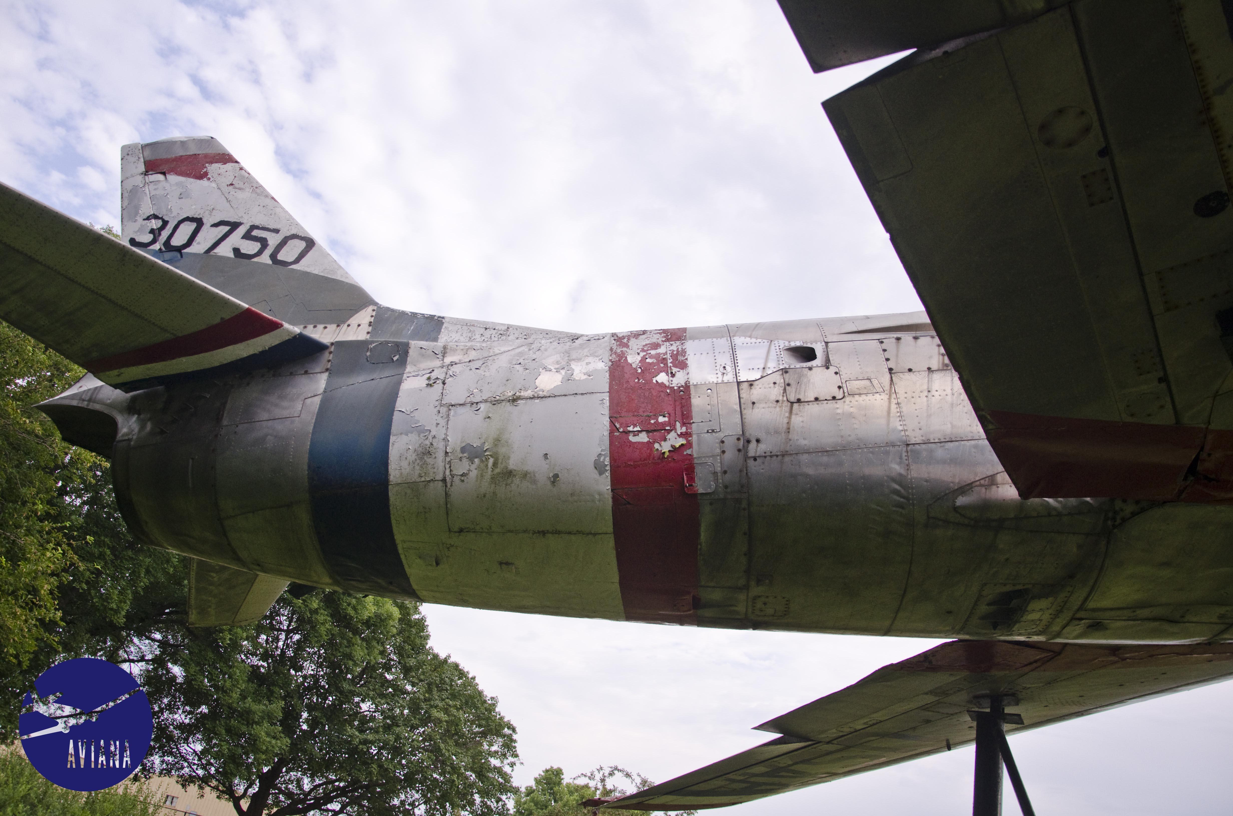 F 86l Display Fighter Jet Restoration At The Iowa City
