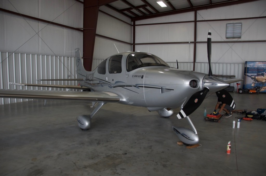Cirrus SR22 GTS Paint Correction and Detailing